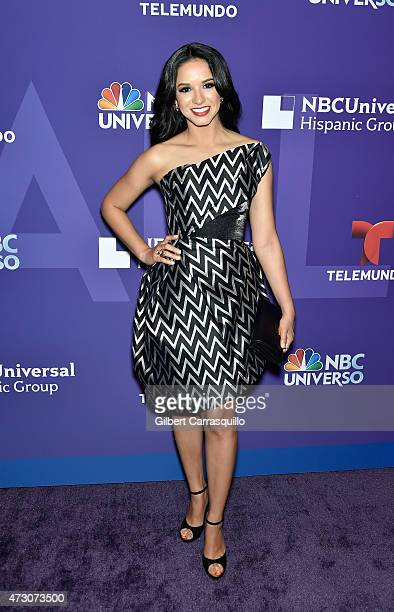 Ana Jurka attends the 2015 Telemundo And NBC Universo Upfront at Frederick P Rose Hall Jazz at Lincoln Center on May 12 2015 in New York City