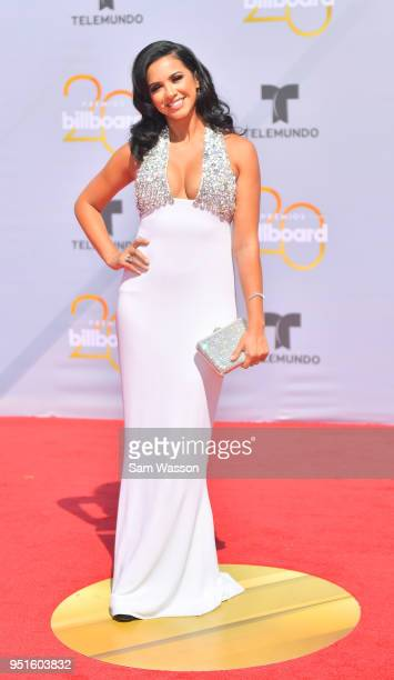 Ana Jurka attends the 2018 Billboard Latin Music Awards at the Mandalay Bay Events Center on April 26 2018 in Las Vegas Nevada
