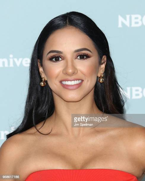 Ana Jurka attends the 2018 NBCUniversal Upfront presentation at Rockefeller Center on May 14 2018 in New York City