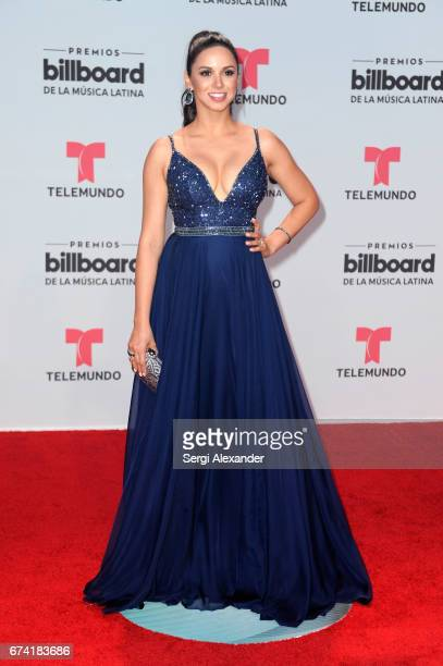 Ana Jurka attends the Billboard Latin Music Awards at Watsco Center on April 27 2017 in Coral Gables Florida