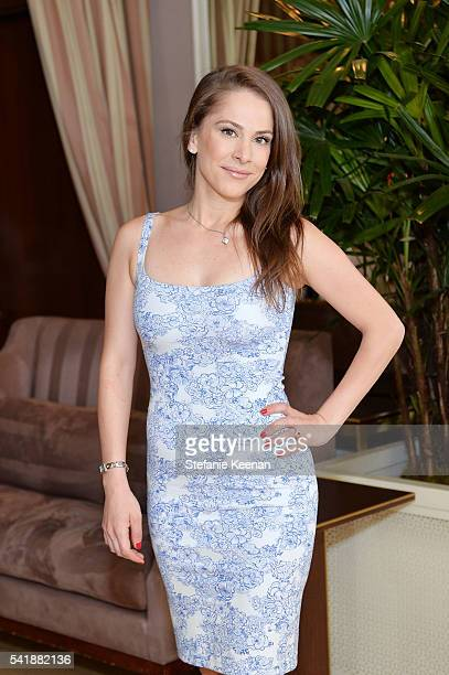 Ana Kasparian attends Glamour and Facebook Host Power Players In Hollywood Politics Lunch at Sunset Tower in West Hollywood at Sunset Tower Hotel on...