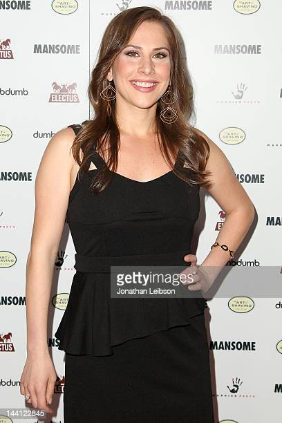 Ana Kasparian attends Morgan Spurlock's New Comedic Documentary Mansome Los Angeles Premiere at ArcLight Cinemas on May 9 2012 in Hollywood California