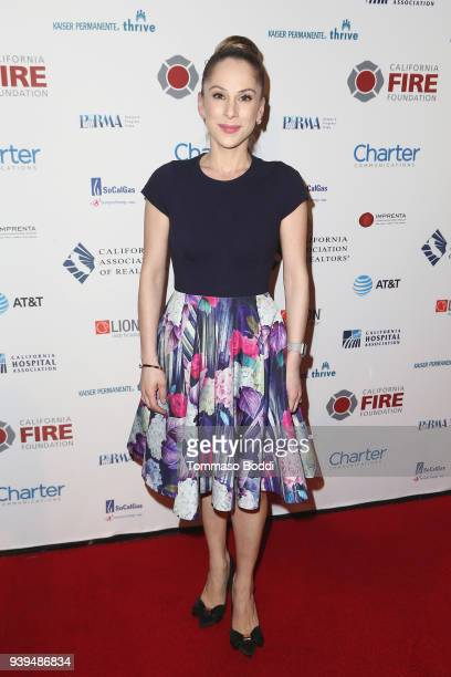 Ana Kasparian attends the California Fire Foundation's 5th Annual Gala at Avalon on March 28 2018 in Hollywood California