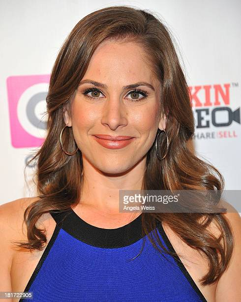Ana Kasparian attends the Social Media Week Los Angeles opening night party to celebrate Social 25 honorees at 41 Ocean Club on September 23 2013 in...