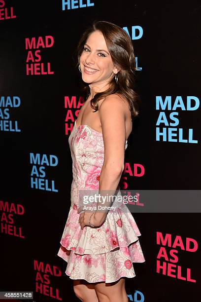 Ana Kasparian attends the The Young Turks Documentary 'Mad as Hell' Los Angeles Premiere at Harmony Gold Theatre on November 6 2014 in Los Angeles...