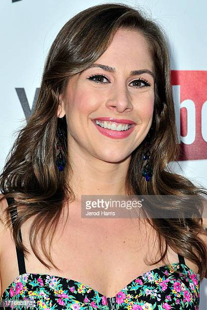 Ana Kasparian of The Young Turks arrives at YouTube and TYT Network Present the 1st Annual YouTube PRIDE Party Hosted By Dave Rubin at YouTube Space...