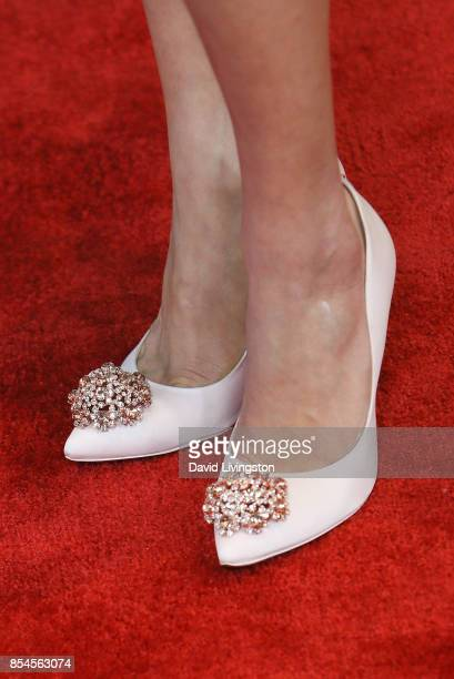 Ana Kasparian shoe detail attends the 7th Annual 2017 Streamy Awards at The Beverly Hilton Hotel on September 26 2017 in Beverly Hills California