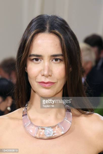 """Ana Khouri attends the 2021 Met Gala benefit """"In America: A Lexicon of Fashion"""" at Metropolitan Museum of Art on September 13, 2021 in New York City."""