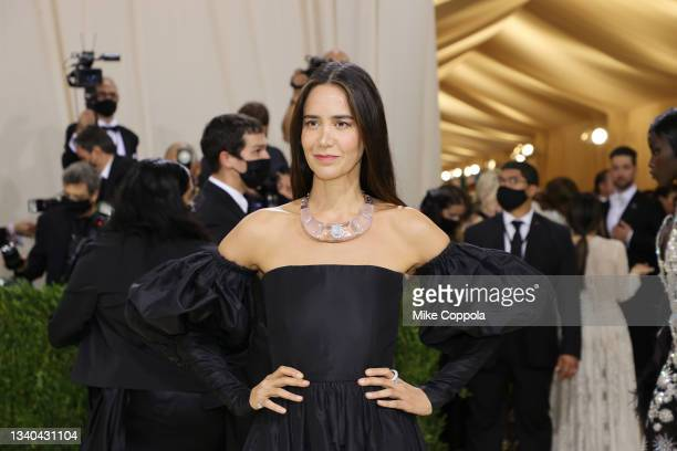 Ana Khouri attends The 2021 Met Gala Celebrating In America: A Lexicon Of Fashion at Metropolitan Museum of Art on September 13, 2021 in New York...