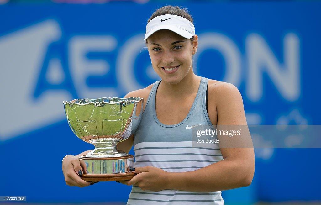 WTA Aegon Open Nottingham - Day Eight : News Photo