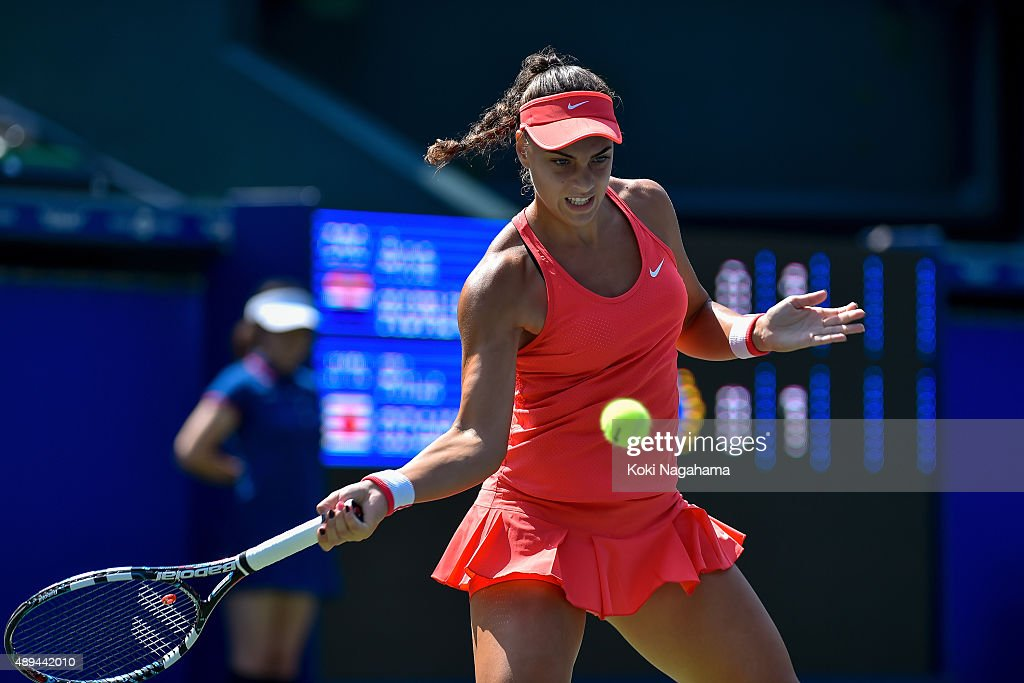Toray Pan-Pacific Open Tennis 2015 - Day 1 : News Photo