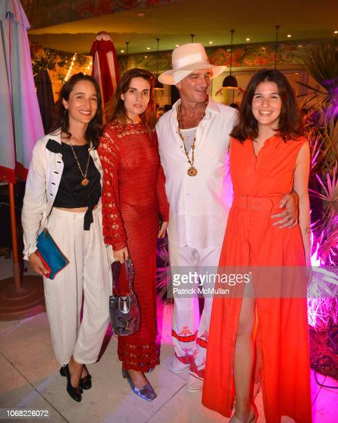 Ana Kras Valen Penero and guests attends the Launch Of The Inaugural Faena Festival Private Preview at Faena Forum on December 3 2018 in Miami Beach...