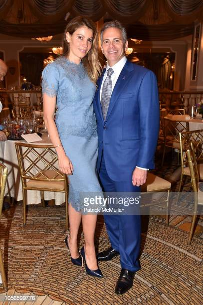 Ana Laspetkovski and David Weinreb attend Alzheimer's Drug Discovery Foundation's Ninth Annual Fall Symposium Luncheon at the Pierre Hotel on...