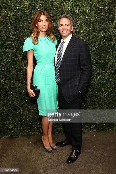 Ana Laspetkovski and David Weinreb attend the Franca Chaos And Creation New York Screening at Metrograph on October 13 2016 in New York City
