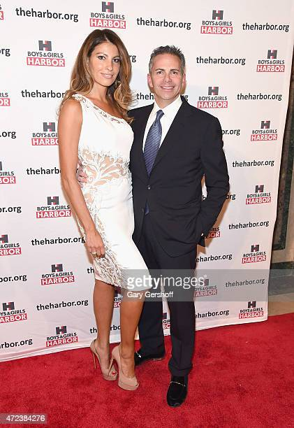 Ana Laspetkovski and event honoree David Weinreb attend the 2015 Boys Girls Harbor 'Salute To Achievement' Benefit at The Plaza Hotel on May 6 2015...