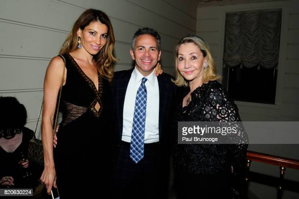 Ana Laspetkovski David Weinreb and Susan Gutfreund attend Youth America Grand Prix Jewels 50th Anniversary Celebration at Home of Susan Gutfreund on...
