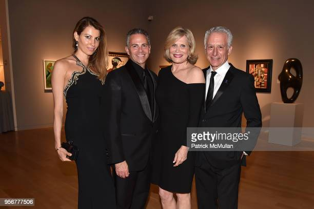 Ana Laspetkovski David Weinreb Susan Kind and Dr Howard Fillit attend Alzheimer's Drug Discovery Foundation 12th Annual Connoisseur's Dinner at...