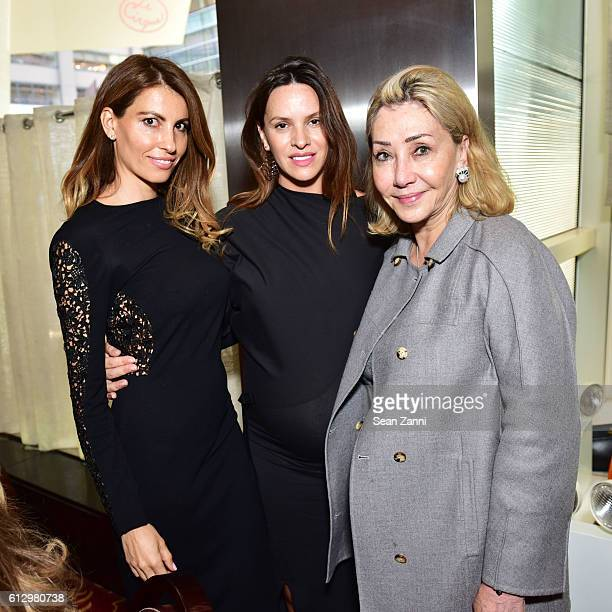 Ana Laspetkovski Ivana Berendika and Susan Gutfreund attend Lifeline NY Annual Benefit Luncheon at Le Cirque on October 5 2016 in New York City