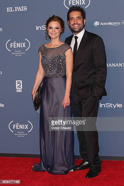Ana Layevska and guest attend the Premio Iberoamericano De Cine Fenix 2016 at Teatro de La Ciudad on December 7 2016 in Mexico City Mexico