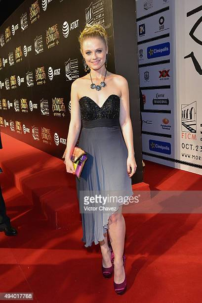 Ana Layevska attends the Morelia International Film Festival on October 23 2015 in Morelia Mexico