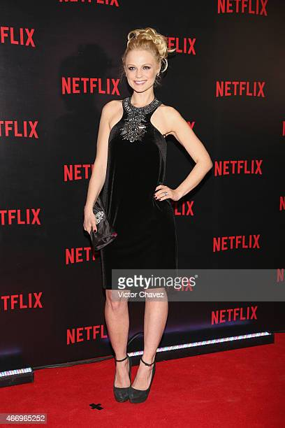 Ana Layevska attends the NetFlix Award 2015 at Museo Jumex on March 19 2015 in Mexico City Mexico