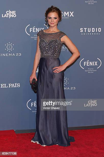 Ana Layevska attends the Premio Iberoamericano De Cine Fenix 2016 at Teatro de La Ciudad on December 7 2016 in Mexico City Mexico