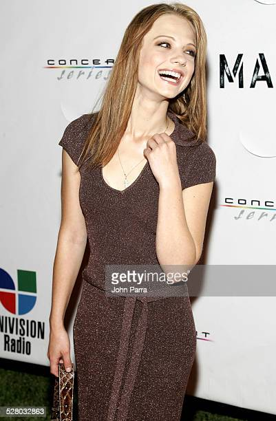 Ana Layevska during Mana Private Concert Performance at the Ice Palace Studios Arrivals at Ice Palace Studios in Miami Florida United States