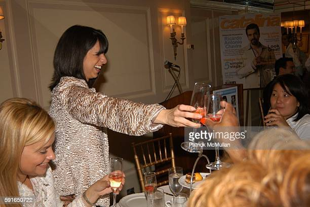 Ana Ledo and Cathy Areu attend Catalina Magazine and The Heart Truth Campaign Third Annual Essence of Latinas Event in New York at The Carlyle Hotel...