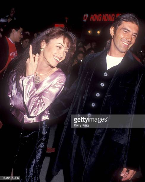 Ana Leza and Antonio Banderas