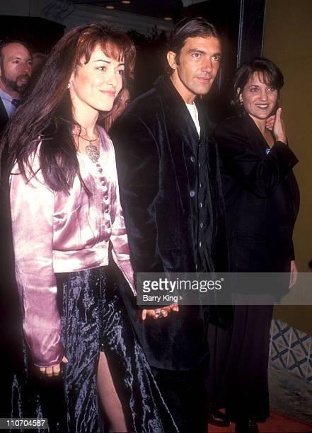 Ana Leza Antonio Banderas and Publicist Robin Baum