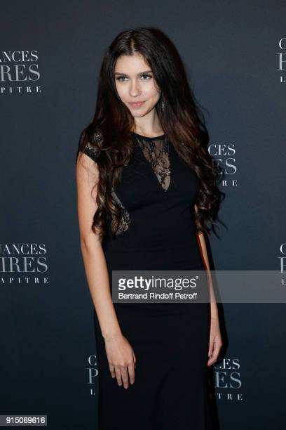 Ana Lisa Kohler attends the 'Fifty Shades Freed 50 Nuances Plus Clair' Paris Premiere at Salle Pleyel on February 6 2018 in Paris France