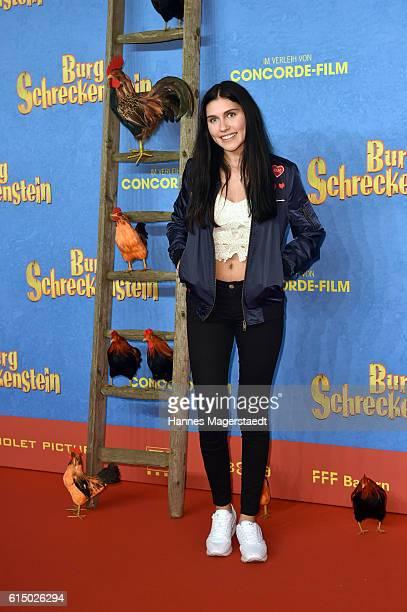 Ana Lisa Kohler attends the premiere of the film 'Burg Schreckenstein' at Mathaeser Filmpalast on October 16 2016 in Munich Germany