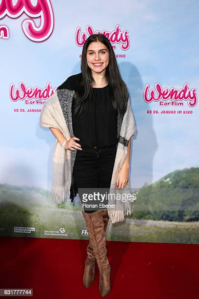 Ana Lisa Kohler attends the premiere of 'Wendy Der Film' at Cinedom on January 15 2016 in Cologne Germany