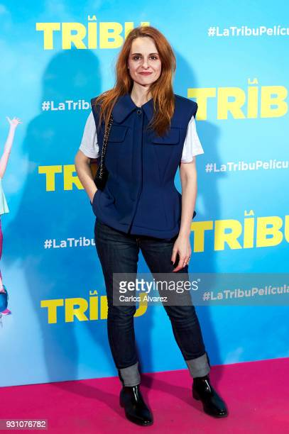 Ana Locking attends 'La Tribu' premiere at the Capitol cinema on March 12 2018 in Madrid Spain