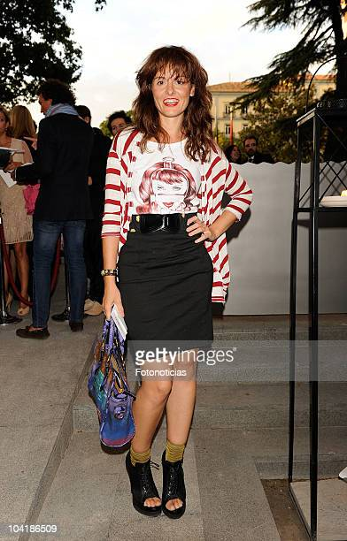 Ana Locking attends the Alvarno fashion show at the Villamagna Hotel on September 16, 2010 in Madrid, Spain.