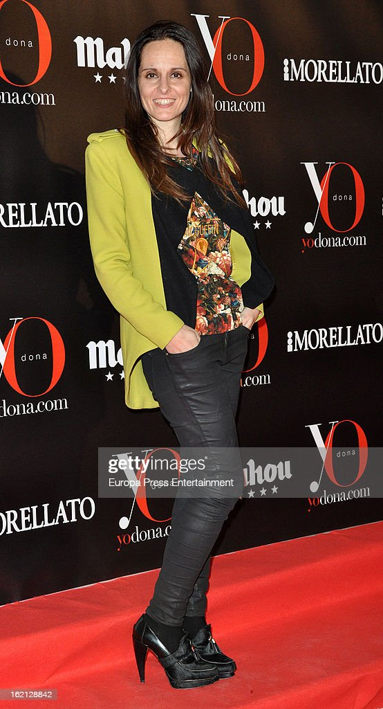 Ana Locking attends 'Yo Dona' magazine mask party on February 18, 2013 in Madrid, Spain.