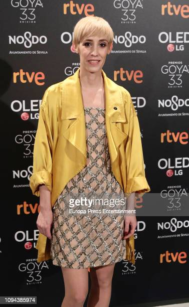 Ana Lopez Cobos attends the candidates to Goya Cinema Awards 2019 dinner party at the Royal Theatre on January 14 2019 in Madrid Spain