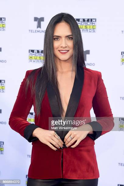Ana Lorena Sanchez attends 2017 Latin American Music Awards at Dolby Theatre on October 26 2017 in Hollywood California