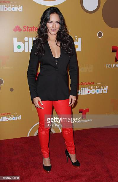 Ana Lorena Sanchez attends Billboard Latin 2015 Finalists Nominations Press Conference on February 9 2015 in Doral Florida