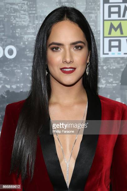 Ana Lorena Sanchez attends the 2017 Latin American Music Awards Press Room at Dolby Theatre on October 26 2017 in Hollywood California