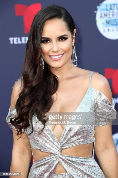 Ana Lucia Dominguez attends the 2018 Latin American Music Awards at Dolby Theatre on October 25 2018 in Hollywood California
