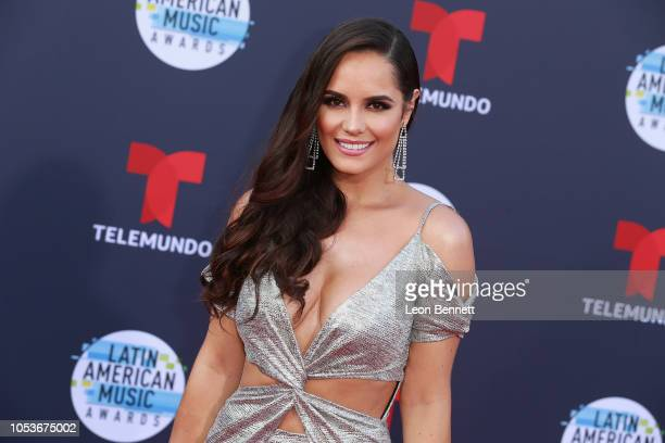 Ana Lucia Dominguez attends the 2018 Latin American Music Awards Arrivals at Dolby Theatre on October 25 2018 in Hollywood California