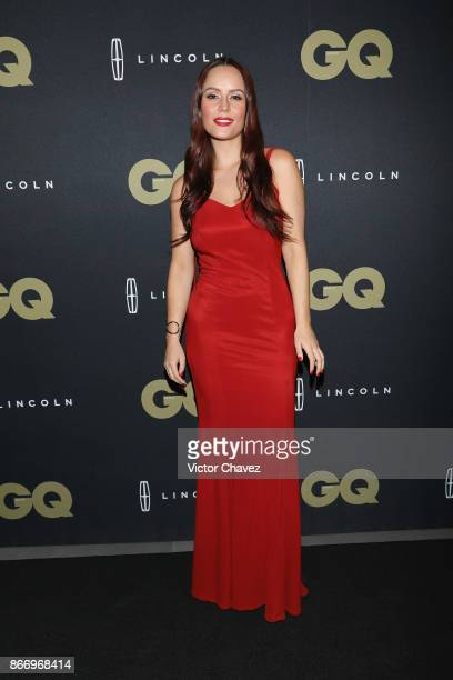 Ana Lucia Dominguez attends the GQ Mexico Men of The Year Awards 2017 on October 26 2017 in Mexico City Mexico