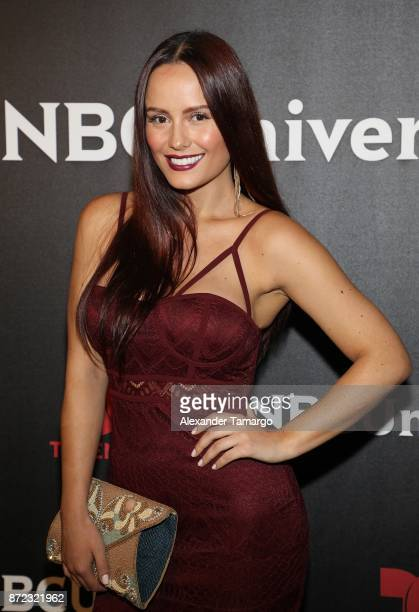 Ana Lucia Dominguez attends the NBCUniversal International Offsite Event at LIV Fontainebleau on November 9 2017 in Miami Beach Florida
