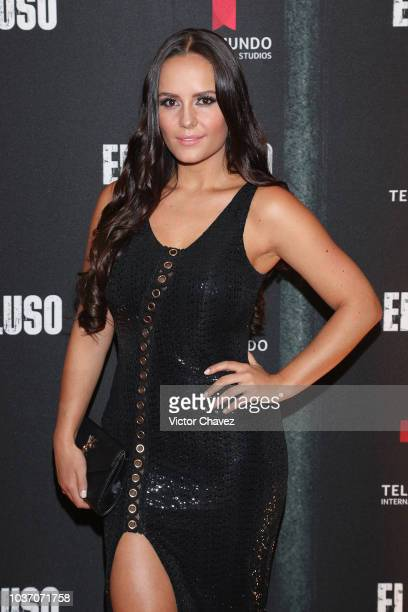 Ana Lucia Dominguez attends the special screening of Telemundo tv series 'El Recluso' at Four Seasons Hotel on September 20 2018 in Mexico City Mexico
