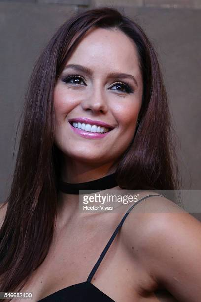 Ana Lucia Dominguez smiles during HBO Latin America Red Carpet at Foro Indierocks on July 12 2016 in Mexico City Mexico