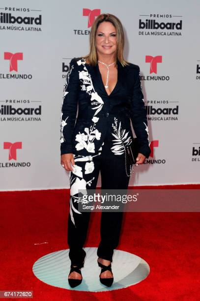 Ana María Polo attends the Billboard Latin Music Awards at Watsco Center on April 27 2017 in Coral Gables Florida