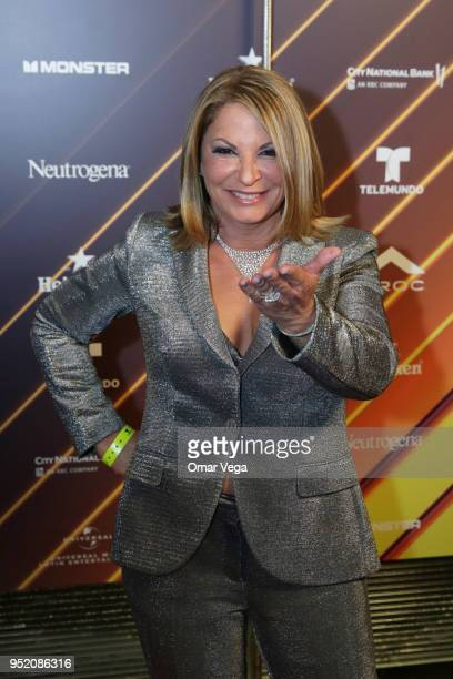 Ana María Polo poses during the 20th Billboard Latin Music Awards After Party red carpet at Jewel Nightclub on April 26 2018 in Las Vegas Nevada