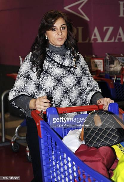 Ana Maria Aldon is seen on December 22, 2014 in Madrid, Spain.