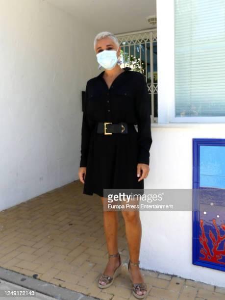 Ana Maria Aldon is seen on June 11, 2020 in San Lucar de Barrameda, Spain.
